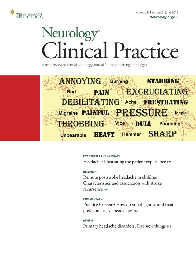 Primary headache disorders | Neurology Clinical Practice