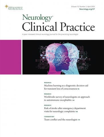 Neurology: Clinical Practice: 10 (2)