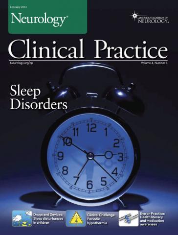 Neurology: Clinical Practice: 4 (1)