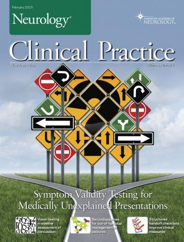 Neurology: Clinical Practice: 5 (1)