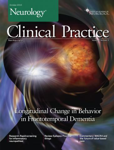 Neurology: Clinical Practice: 6 (5)