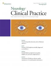 Neurology: Clinical Practice: 10 (1)