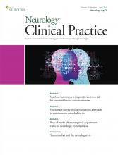 Neurology: Clinical Practice: 10 (2)