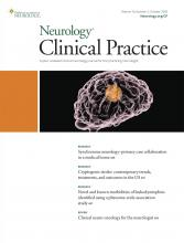 Neurology: Clinical Practice: 10 (5)