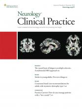 Neurology: Clinical Practice: 8 (6)