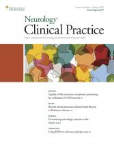 Neurology: Clinical Practice: 9 (1)