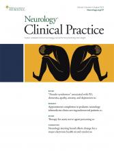 Neurology: Clinical Practice: 9 (4)